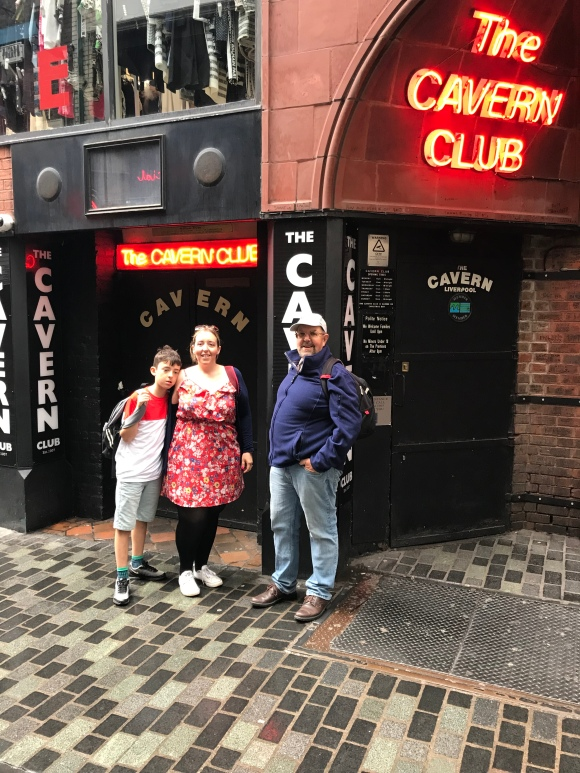 Outside the Cavern club