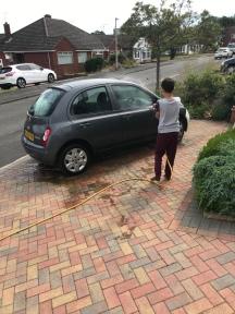 Car wash time!